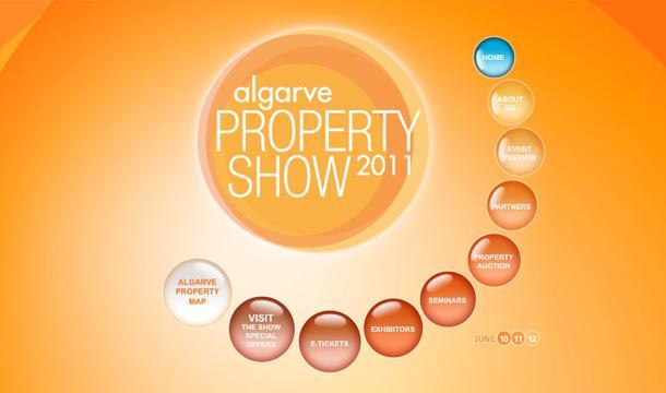 Algarve Property Show website