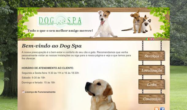 DogSpa website