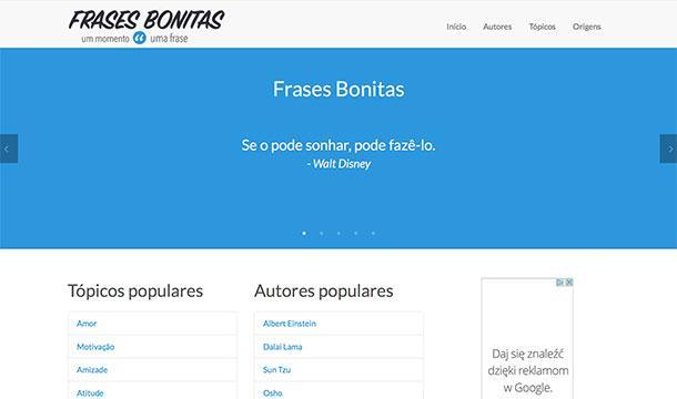 Frases Bonitas website
