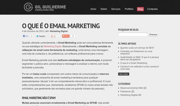 Gil Guilherme website